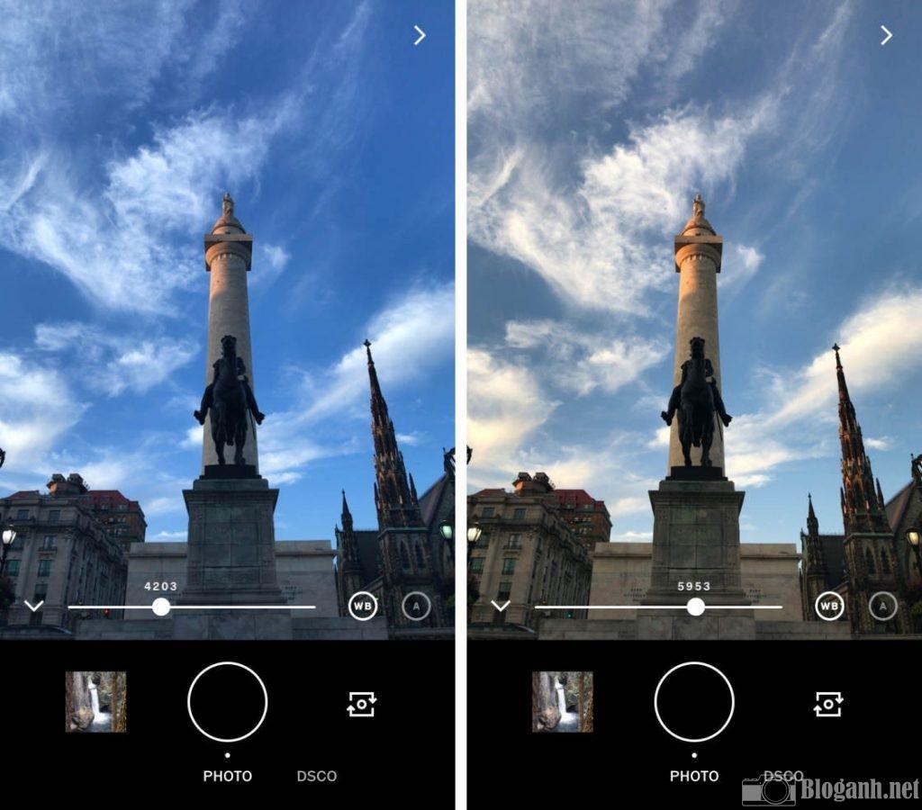 cân bằng trắng trên ảnh, cách cân bằng trắng ảnh, chụp ảnh bằng VSCO