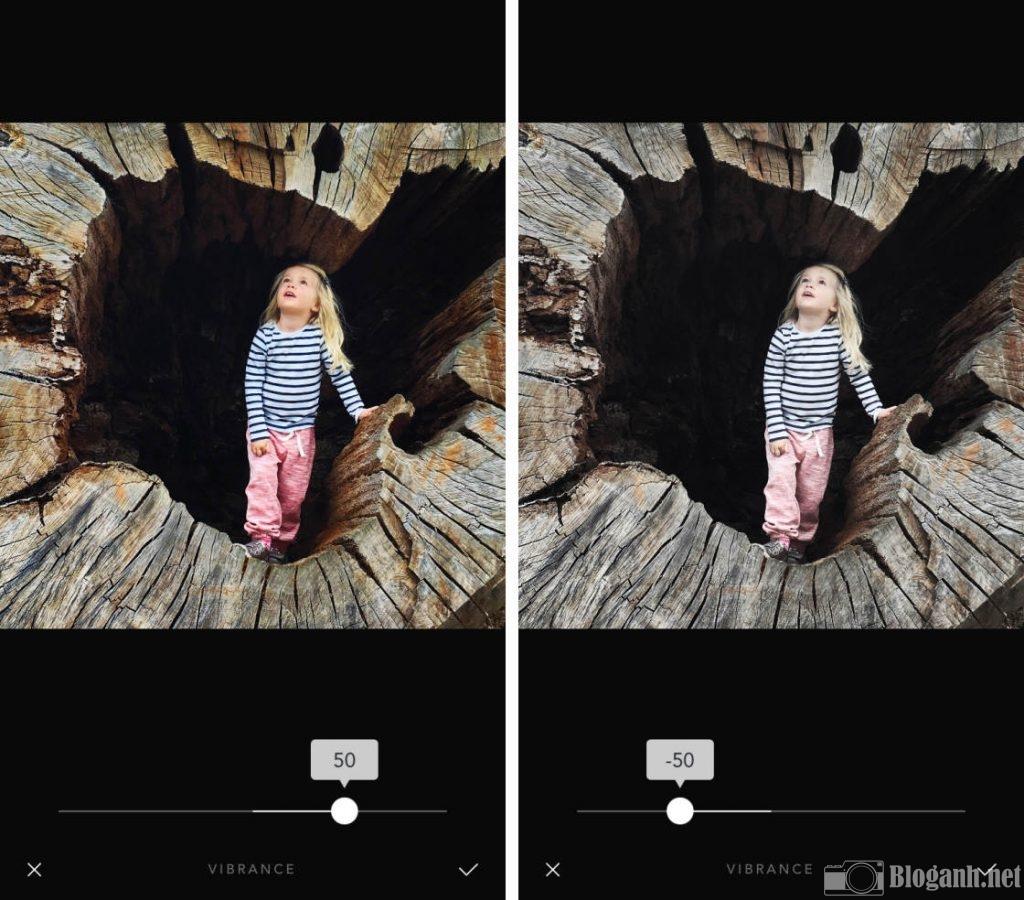 công cụ chỉnh sửa ảnh, công cụ chỉnh ảnh trên Afterlight 2