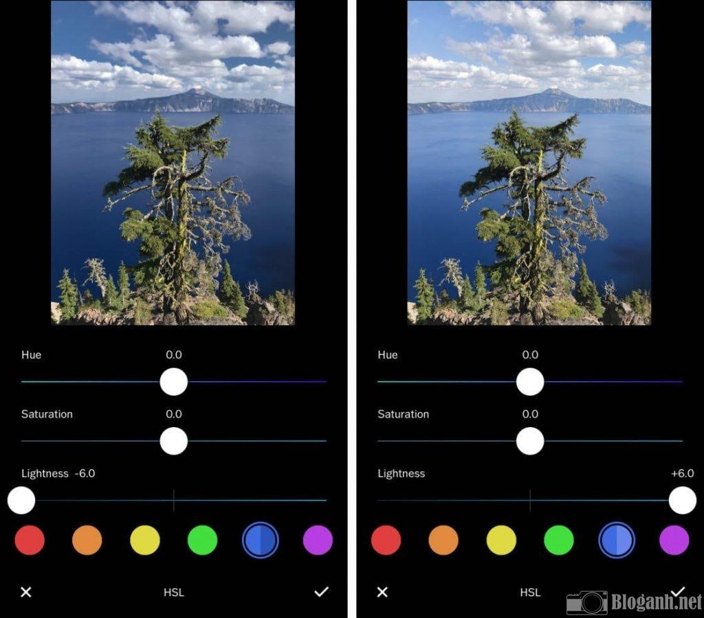cách chỉnh ảnh, cách chỉnh sửa bộ màu ảnh VSCO, cách chỉnh sửa bộ lọc màu