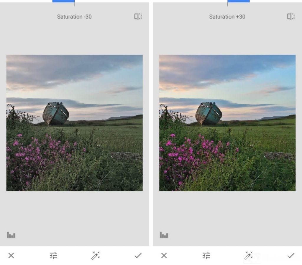 cách chỉnh hình ảnh, chỉnh ảnh trên Snapseed