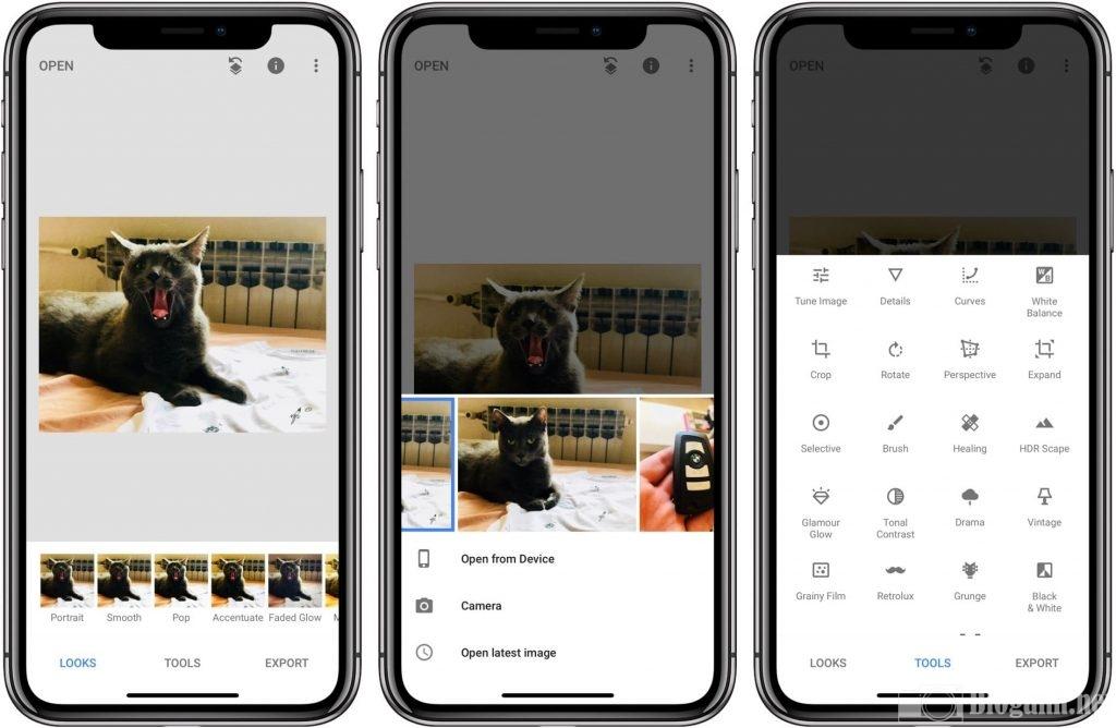 cài đặt Snapseed trên điện thoại, cách cài đặt snapseed trên điện thoại iOS