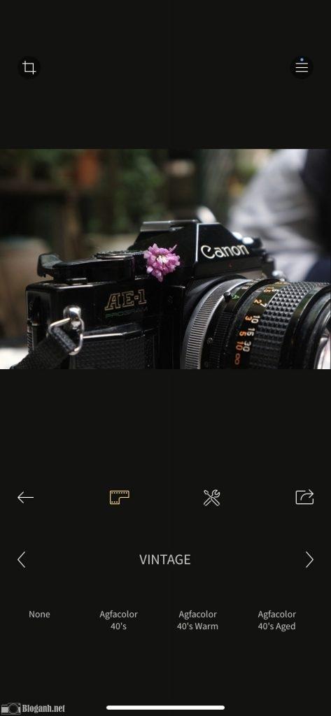 cách chỉnh ảnh, chỉnh ảnh trên RNI Films, máy ảnh film