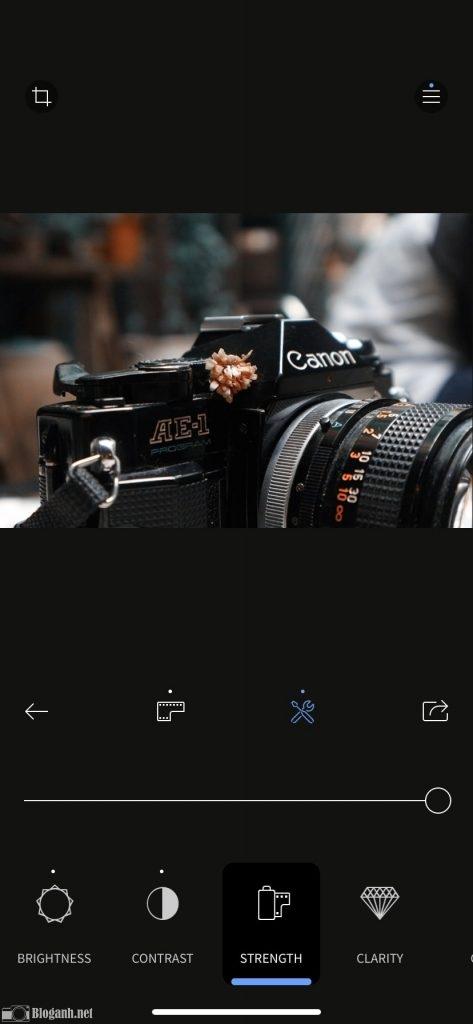 cách chỉnh ảnh, chỉnh màu trên RNI Films