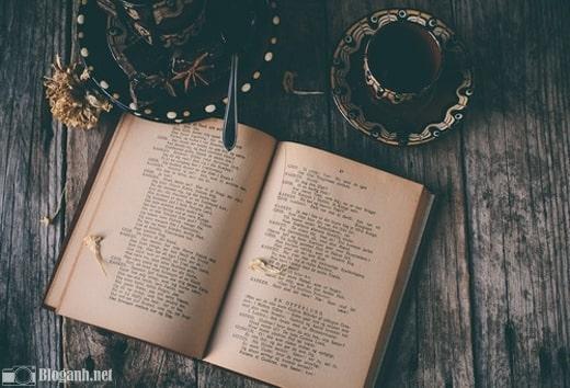 bộ lọc màu, cafe, sách