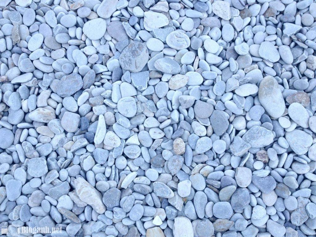 sỏi đá, tone xanh