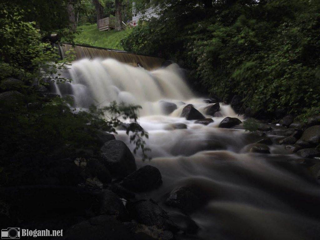 thác nước, núi rừng