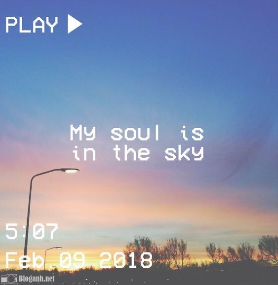 bầu trời, ảnh film