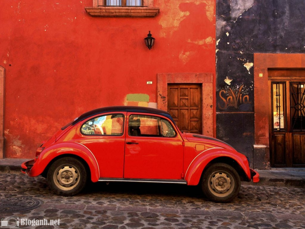 ô tô, màu đỏ