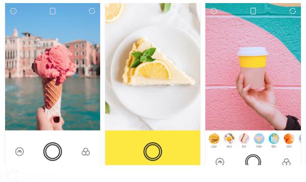 bánh, kem, màu sắc, chỉnh ảnh foodie