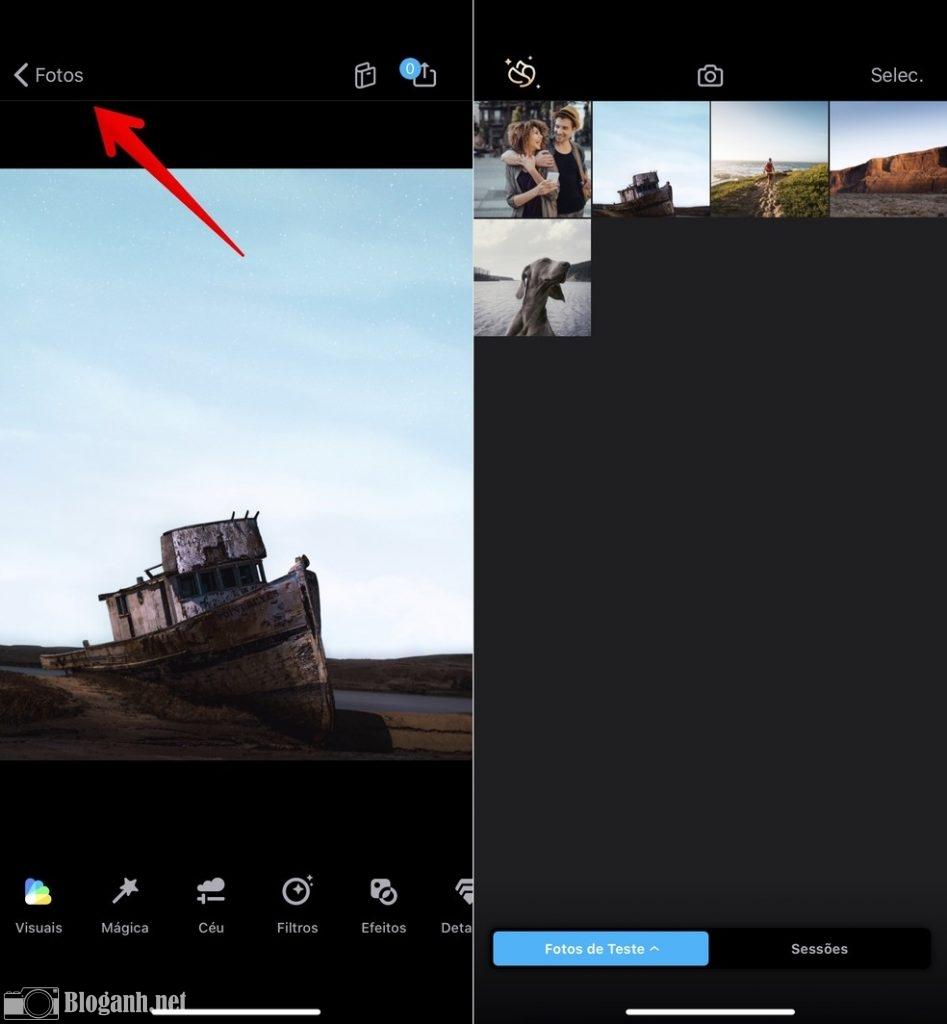 chỉnh ảnh, cách chỉnh ảnh enlight quickshot