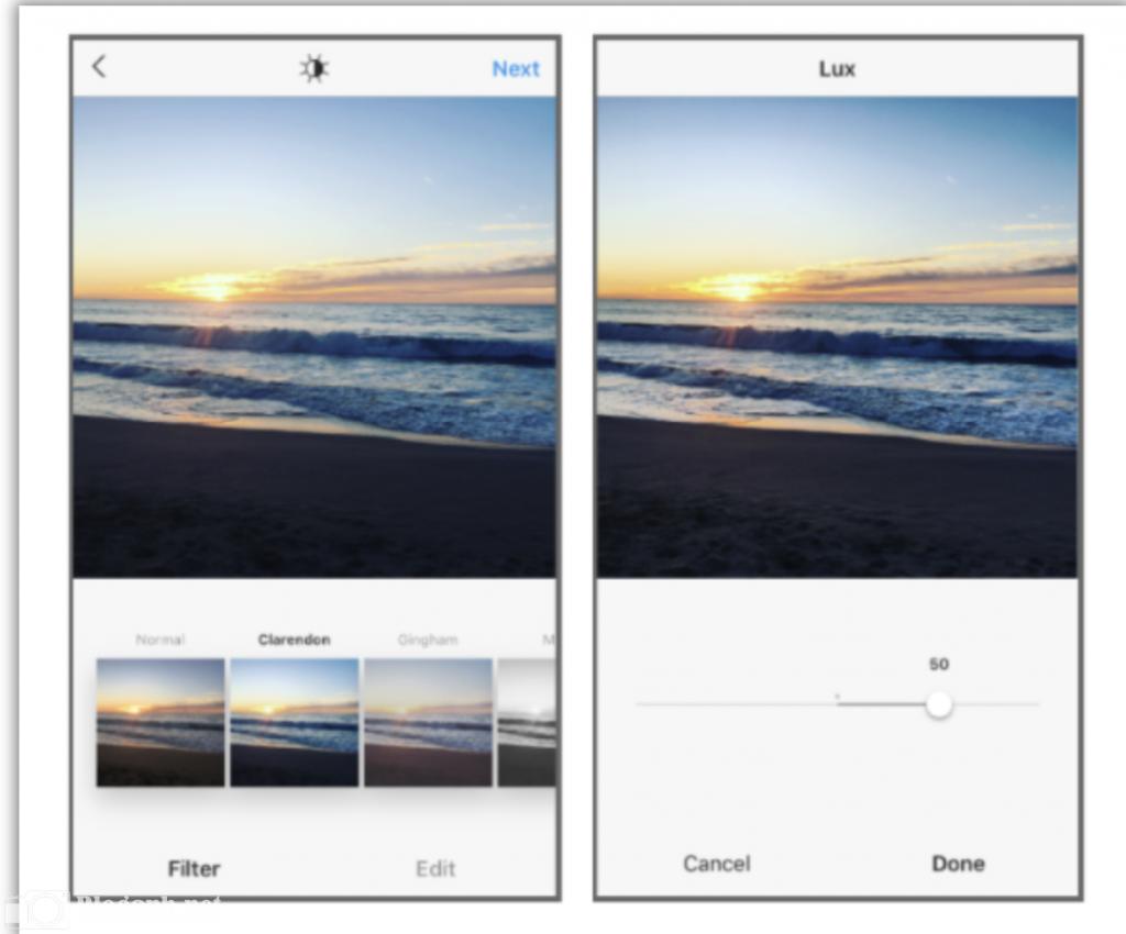 chỉnh ảnh, Lux, Instagram, biển, bầu trời